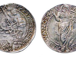 Kustaa Vaasan taaleri rahalöytö Suomesta